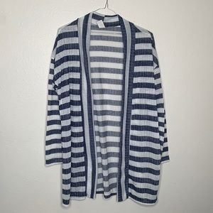 Pretty Young Thing | Striped | Open front Cardigan